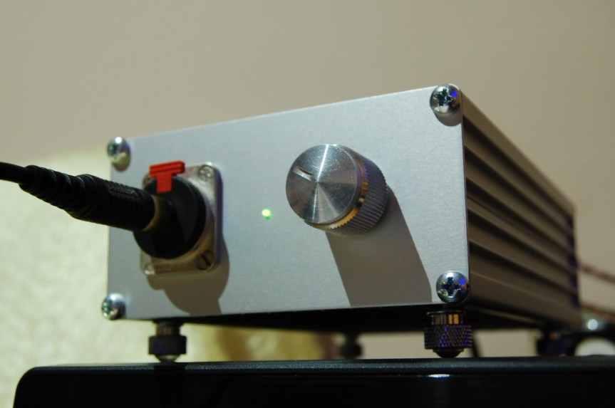 Headphone Amplifier With TPA6120A Part II – Finished Product
