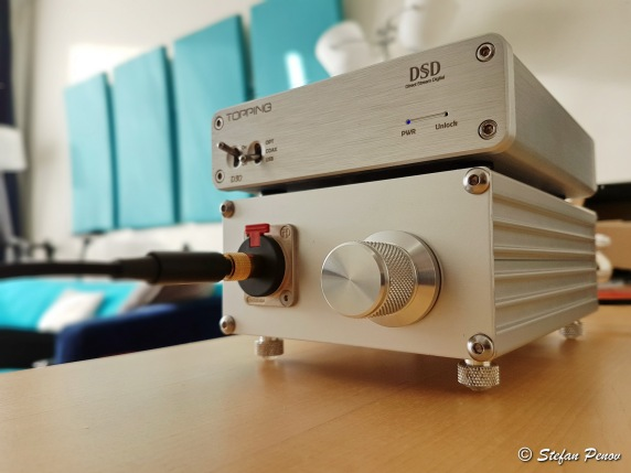 First tests with music using my new Audio DAC
